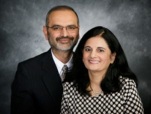 Drs. Neelima and Mukul Parikh, recipients of the 2016 Humanitarian Award